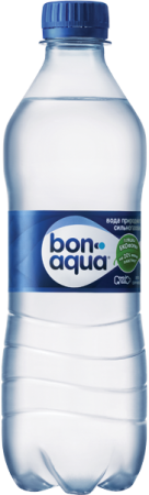 Bon Aqua gas 0.5 (bottle)