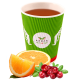 Natural tea Lingonberry and orange